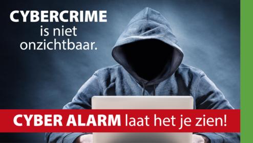 SAM Cyber Alarm maakt Cybercriminaliteit zichtbaar
